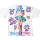 Cosmic Ninja -YAMIICHI-のオシリスたゃん Full graphic T-shirts
