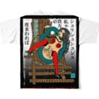 うらなか書房の薔薇鎖フルグラフィックTシャツ