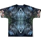 水 本 ¿ ? のsoul Full graphic T-shirtsの背面