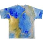 ATELIER SUIのbound Full graphic T-shirtsの背面
