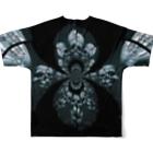RMk→D (アールエムケード)のカタコンベ Full graphic T-shirtsの背面