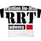 RRT公式ショップのRRTオリジナル Full Graphic T-Shirtの背面