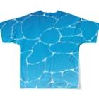 シショー's SHOPの-OCEAN- Full Graphic T-Shirtの背面