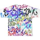 なぞQのもうあかんフルグラフィックTシャツ
