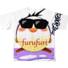 フルフリのフルフリバージョン2フルグラフィックTシャツ