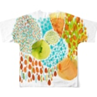 hugging♡+《ハギング ラブ プラス》の353フルグラフィックTシャツ