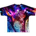 nor_tokyoのdyebirth_004 Full graphic T-shirtsの背面