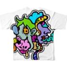 oreteki design shopのキモグロかわいい!フルカラーVer Full graphic T-shirts