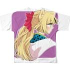 橘りたの暁子 フルグラフィックTシャツ