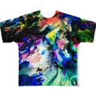 nor_tokyoのdyebirth_005 Full graphic T-shirts