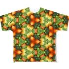 旅と、日記と、総柄。のファームステイ先の、美味しいトマトだよ!多分ね! Full graphic T-shirts