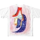 小夜子のハイヒール小夜子 Full graphic T-shirts