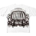 バニラde高収入ショップ[SUZURI店]のVANILLA TRUCK Full graphic T-shirts