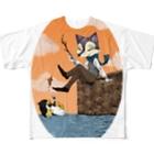 紅桃劇団のthe Fall Full graphic T-shirts