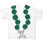 Animaletc.のすいかわっしょい Full graphic T-shirts