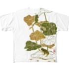G-laboの蓮蛙 Full graphic T-shirts