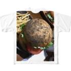 awakeve57の虫の卵バーガー Full graphic T-shirts