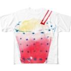 megumiillustrationのくりそ フルグラフィックTシャツ