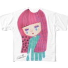 sachi☆chocoの夜が来た Full graphic T-shirts