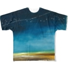 ゆるるかの銀河鉄道T Full graphic T-shirts