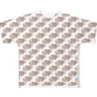 TAIYAKI INSANITYのたい焼き大好き 〈叢〉 Full graphic T-shirts