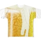 chicodeza by suzuriのビール好きの為に Full graphic T-shirts