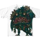 UFOchanのNEW-FACE-19 All-Over Print T-Shirt