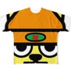 原田専門家のパ紋No.3272 花 Full graphic T-shirts