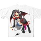 カゲロウの悪魔ちゃんTシャツ Full graphic T-shirts