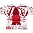 ICHITA_GAHAKUの特選本マグロFT Full graphic T-shirts