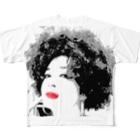 brand-new SomethingのFeel Soul Girl Full graphic T-shirts