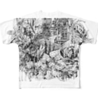 な。のFish1 Full graphic T-shirts
