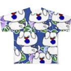 シマブクロ☆ショップのレモン Full graphic T-shirts