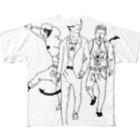 マグダラのヒカル@堕天使垢のデーモンズデート Full graphic T-shirts