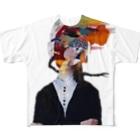 にくまん子のふつうに2美 Full Graphic T-Shirt
