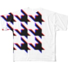 TATEYAMAのHoundtooth Full graphic T-shirts
