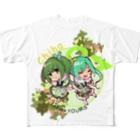 "YOUMSのうさ食&ラスク擬人化娘 ちびキャラ""チハ""ver Full graphic T-shirts"
