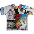 DoiMayumiのPOP ART JUNKIE01 Full graphic T-shirts