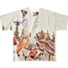 東京ガッツ officialの犬神家 フルグラフィックTシャツ