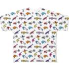 ワカボンドのルアーコレクション Full graphic T-shirts