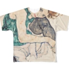 Takahashijunのエゴンシーレ1917 Full graphic T-shirts
