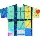 GreenRoseのシャーマニック Full graphic T-shirts