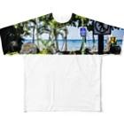 AlohaSolのAlohaSol Photo Print Full graphic T-shirts