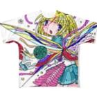 つよきで!(笑)秋葉原本部のやさしい殺虫剤 Full graphic T-shirts