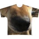 tomo4のゴンタ Full graphic T-shirts