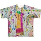 tomo4のミンゾク Full graphic T-shirts