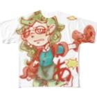 いわし のあい Full graphic T-shirts