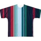 かすみ草の極彩 Full graphic T-shirts