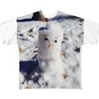 RAINMANのSNOWMAN Full graphic T-shirts
