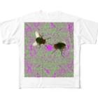 _kabukiagefactory_の中毒バエ Full graphic T-shirts